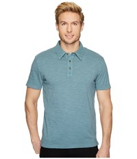 Mod O Doc Zuma Short Sleeve Polo Oasis Men's Clothing Blue