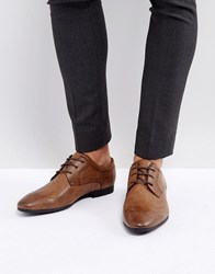 New Look Derby Shoes In Dark Brown Dark Brown
