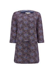 White Stuff Poetical Jersey Tunic Navy