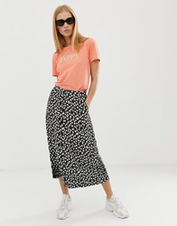 B.Young Floral Button Through Skirt Multi