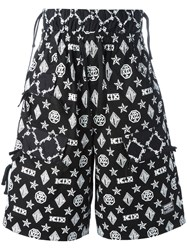 Ktz Monogram Shorts Black
