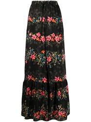 Red Valentino Floral Print Palazzo Trousers 60