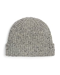 The Men's Store At Bloomingdale's Donegal Flecked Beanie Grey