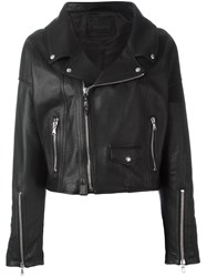 Diesel Black Gold 'Le Figaro' Biker Jacket Black