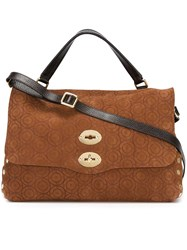 Zanellato Large Satchel Brown