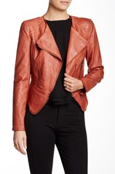 Fillmore The Vegan Leather Jacket Red