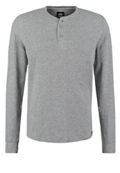 Dickies Lowell Long Sleeved Top Gray Melange Mottled Grey