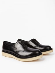 Adieu Black Type 86 Leather Derby Shoes