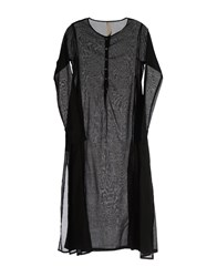 Poeme Bohemien Dresses 3 4 Length Dresses Women Black
