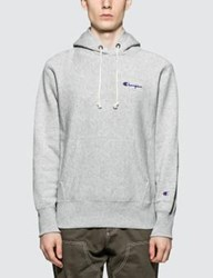 Champion Reverse Weave Small Script Logo Hoodie