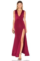 Lurelly X Revolve Amber Dress Wine