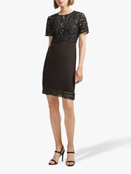French Connection Viola Lula Dress Black
