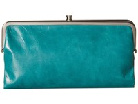 Hobo Lauren Teal Green Clutch Handbags