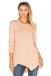 Wilt Slub Easy Crew Top Blush