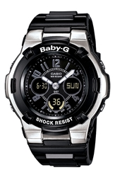 Baby G Dual Movement Watch 44Mm X 40Mm Black