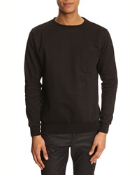 Menlook Label Kyle Black Sweatshirt
