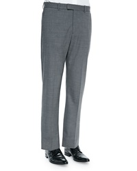 Theory Kody 2 New Tailor Suit Pants Charcoal
