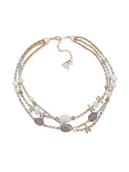 Lonna And Lilly Natural Beaded Crystal Necklace