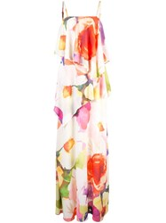 Josie Natori Eden Maxi Dress Multicolour