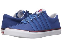 K Swiss Surf 'N Turf Og Classic Blue Ribbon Red White Canvas Women's Tennis Shoes