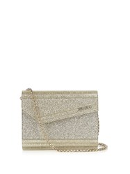 Jimmy Choo Candy Small Clutch Gold