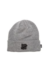 Undefeated 5 Strike Beanie Gray