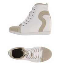 Ruco Line High Tops And Trainers White