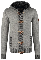 Petrol Industries Cardigan Light Grey Melange