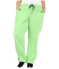 Jockey Plus Size Modern Convertible Drawstring Waist Pants Key Lime Women's Casual Pants Green