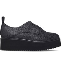 Kg By Kurt Geiger Kyack Textile And Leather Oxfords Other