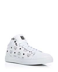 Mcm Sneakers Carryover Low Top White
