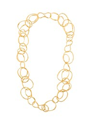 Aurelie Bidermann Maria Necklace Metallic