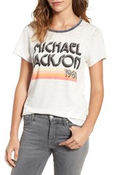 Junk Food Women's Michael Jackson Burnout Tee