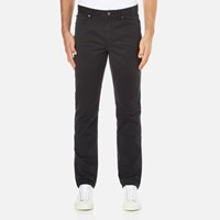 Michael Kors Men's Slim 5 Pocket Twill Jeans Black