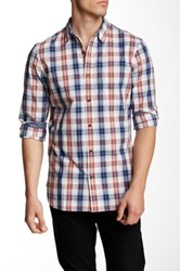 Wallin And Bros Dobby Regular Fit Signature Shirt Blue