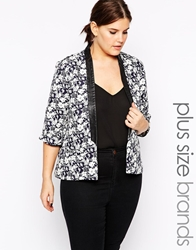 Carmakoma Nautical Flower Blazer Navy
