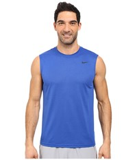 Nike Legend 2.0 Sleeveless Tee Game Royal Black Black Men's T Shirt Blue