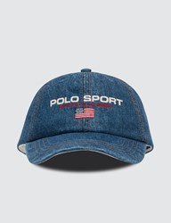 Polo Ralph Lauren Embroidered Logo Cap Blue