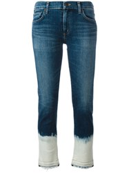 Citizens Of Humanity Bleached Hem Jeans Blue