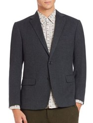 Billy Reid Lenox Wool Jacket Grey