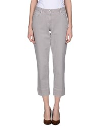 Henry Cotton's Denim Denim Trousers Women Grey