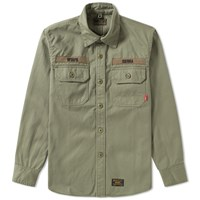 Wtaps Buds Hbt Shirt Green