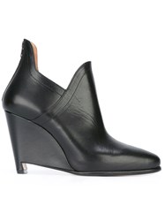 Maison Martin Margiela Wedge Ankle Boots Black