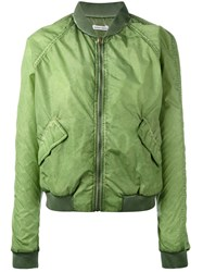 Tomas Maier Classic Bomber Jacket Green