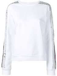 Iceberg Sequin Embroidered Top White
