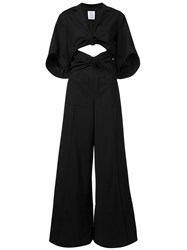Rosie Assoulin 'Knotty By Nature' Jumpsuit Black