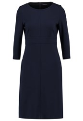 Strenesse Darysa Jersey Dress Navy Dark Blue