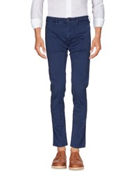 Hamptons Casual Pants Slate Blue