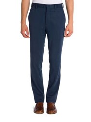 Fendi Classic Fit Trousers Abisso