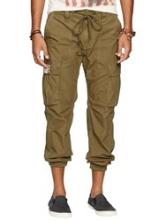 Denim And Supply Ralph Lauren Cargo Joggers Marine Corp Olive